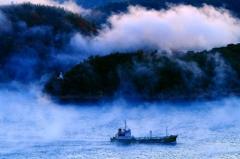 海霧にむせぶ