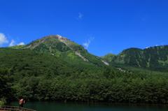 快晴の焼岳