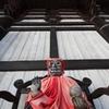 東大寺に座ってた
