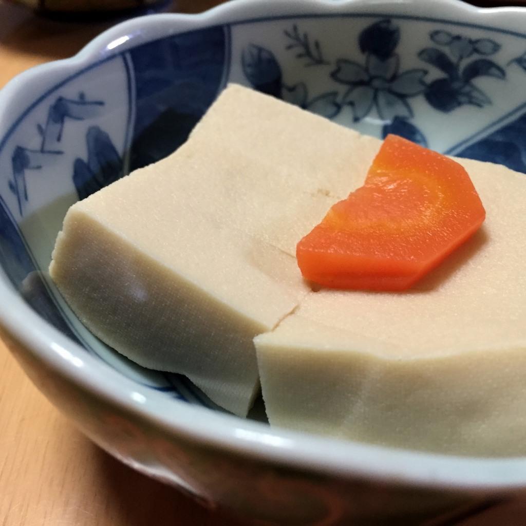 肴 高野豆腐