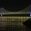 夜の星海湾大橋