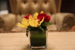 ロビーの花