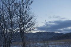仙石原雪景色