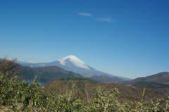 富士山 箱根ターンパイクより