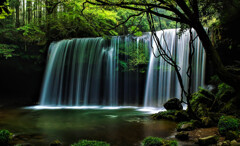 Waterfall showerⅢ