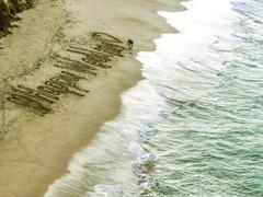 HAPPY WEDDING :砂浜に描いた幸せ