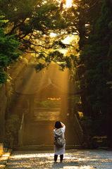 ninjinの伯耆の国散歩 大山大神山神社奥宮山門