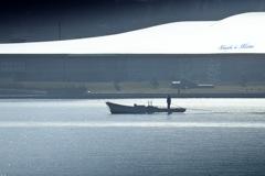 ninjinの松江百景 宍道湖しじみ漁1