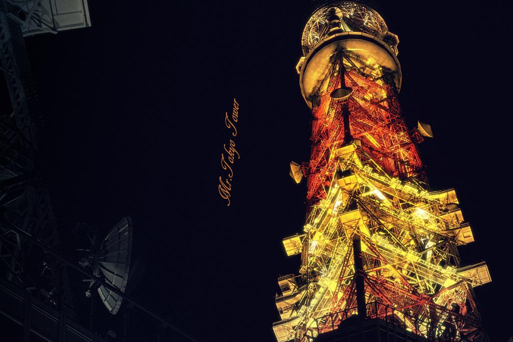 ninjinの東京漫歩 Mr. tokyo tower