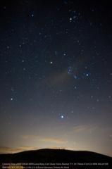 Starry sky in karst tableland☆