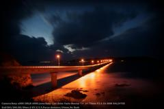 Twilight in Tsunoshima bridge☆