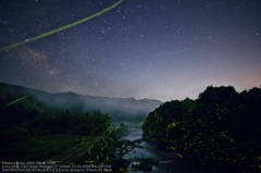The Milky Way and firefly☆