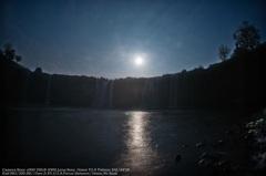 Waterfall of moonlight night☆