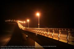 Night view of Tsunoshima bridge☆