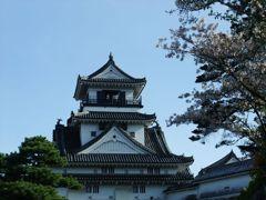 高知城 with桜