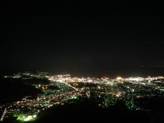 天狗山からの夜景