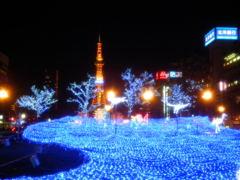 青色LEDキレイー!!