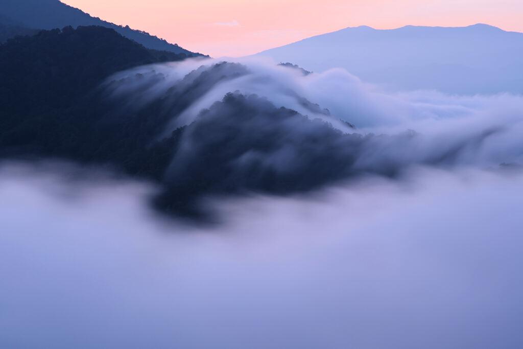 滝雲の季節