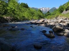 渓流釣りで出合った風景
