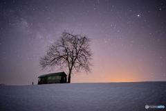 雪峠の星景