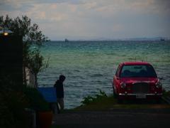 海辺のレストラン P1180884zz
