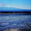 薄氷 二月の河口湖 IMGP1901zz