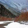 冬の岳沢 IMGP0954zz