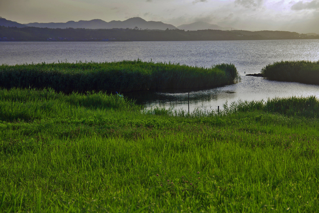 宍道湖の朝Ⅱ _IGP5374zz