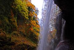 裏見の滝の秋Ⅱ IMGP6161zz