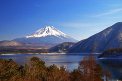 本栖湖より望む富士 IMGP1978zz富士と