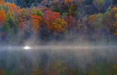 朝靄の木戸池 IMGP8960zz