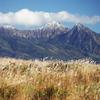 すすきの原と八ヶ岳
