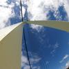 紺碧の空に浮かぶ夏雲
