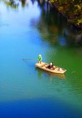 和船に乗り殿様気分で舟遊び     IMGP8502z