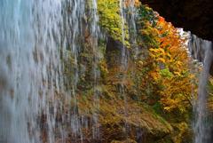 裏見の滝の秋 IMGP6154zz
