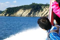 友ヶ島を望む