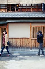 shootin in Kyoto