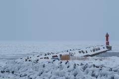 2018流氷 いつも見る景色