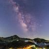 立山の星空