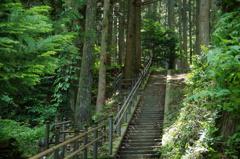 200段の階段