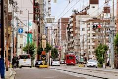 大阪のまちで
