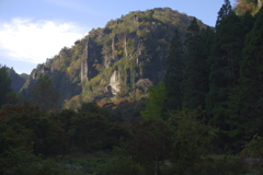 耶馬溪の朝