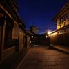 八坂の塔、台風前夜