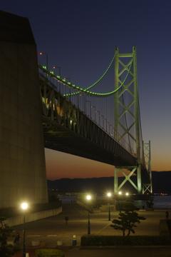 明石海峡大橋 トワイライト Ⅴ