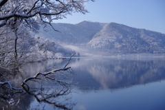 凍湖の朝 Ⅱ
