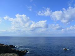 日御碕の海。