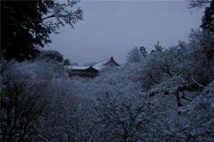雪景・洗玉澗