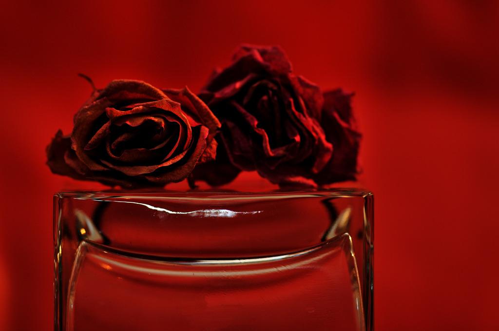 薔薇とクリスタル