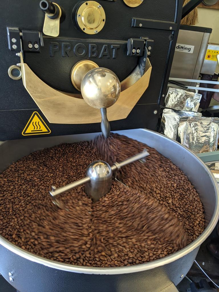 コーヒー豆の店