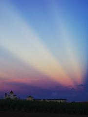 夕日の裏側